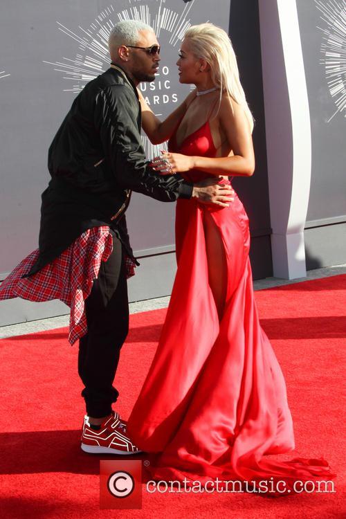Chris Brown and Rita Ora 8