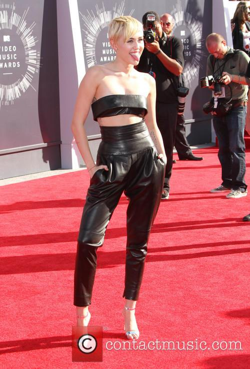Miley Cyrus at 2014 MTV Video Music Awards