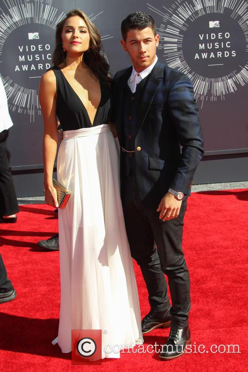 Olivia Culpo and Nick Jonas 3