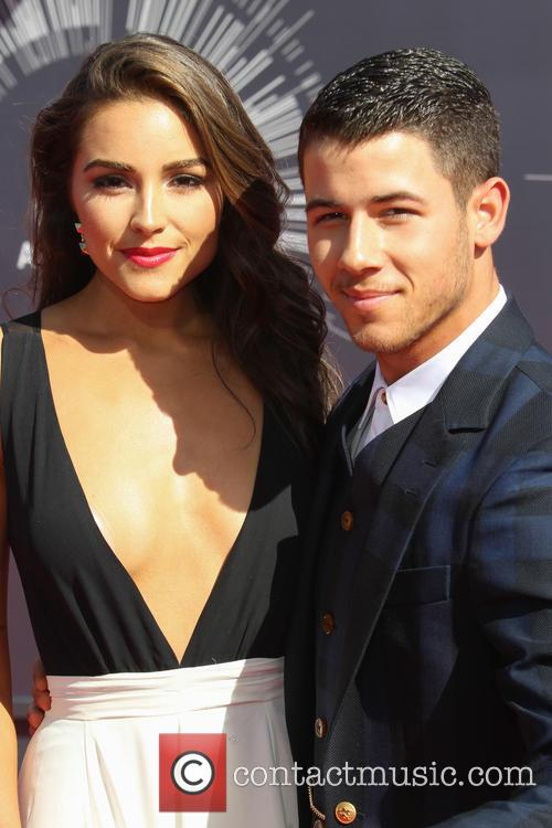 Olivia Culpo and Nick Jonas 4