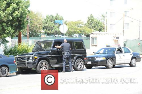 Naya Rivera talks to the LAPD