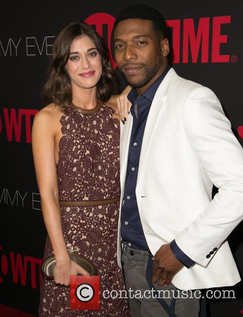 Lizzy Caplan and Jocko Sims