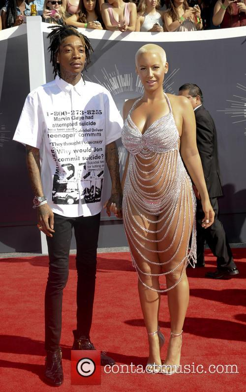 Wiz Khalifa and Amber Rose 1
