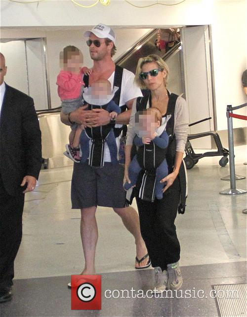 Chris Hemsworth and Elsa Pataky 7