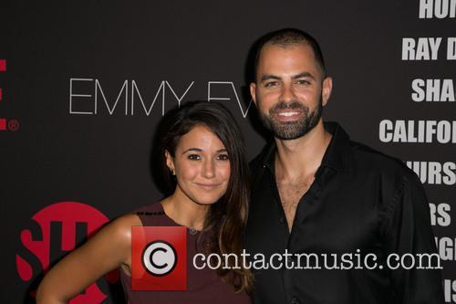 Emmanuelle Chriqui and Adrian Bellani