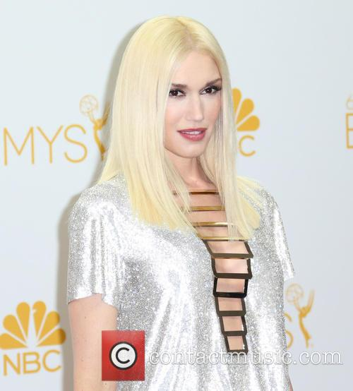 Gwen Stefani in the 66th Primetime Emmy's Pressroom
