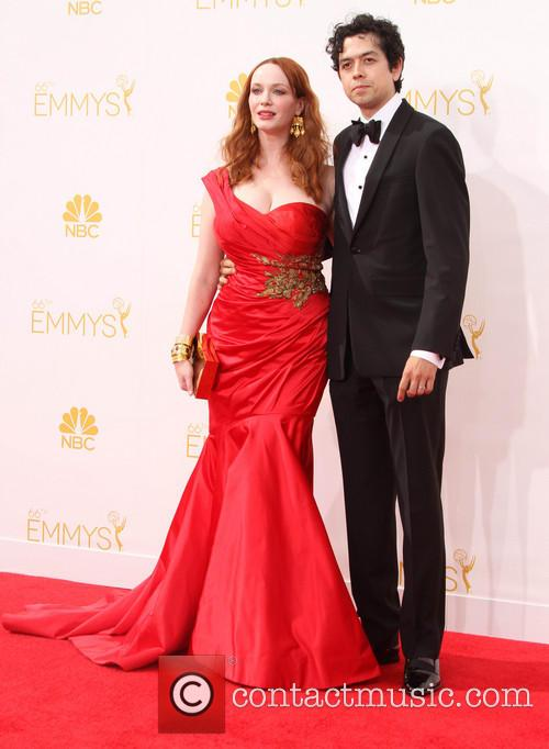 Christina Hendricks and Geoffrey Arend 2