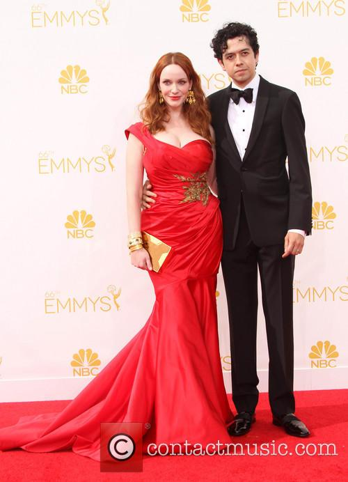 Christina Hendricks and Geoffrey Arend 5