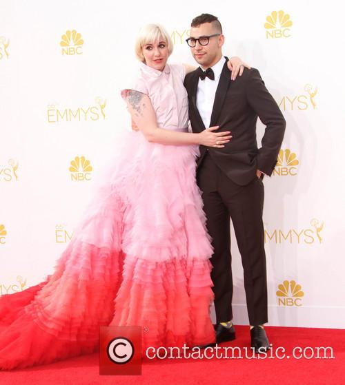 Lena Dunham and Jack Antonoff 2
