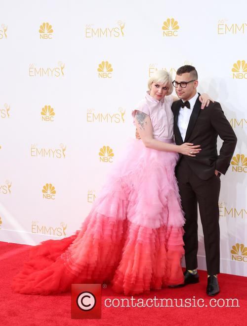 Lena Dunham and Jack Antonoff 3