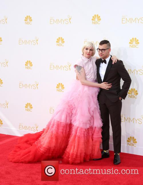 Lena Dunham and Jack Antonoff 6