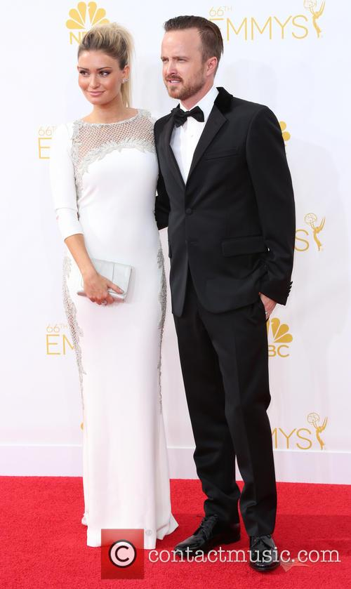 Aaron Paul and Lauren Parsekian 5