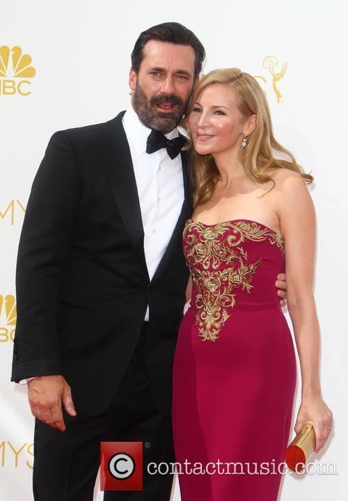 Jon Hamm and Jennifer Westfeldt 2