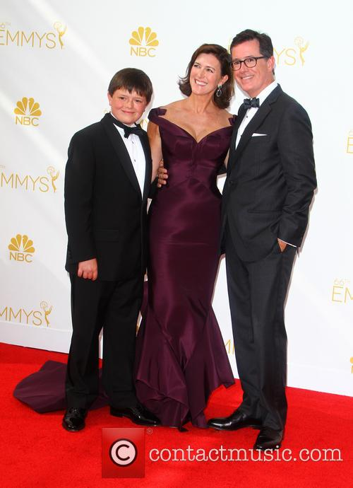 Stephen Colbert, Evelyn Mcgee-colbert and John Colbert