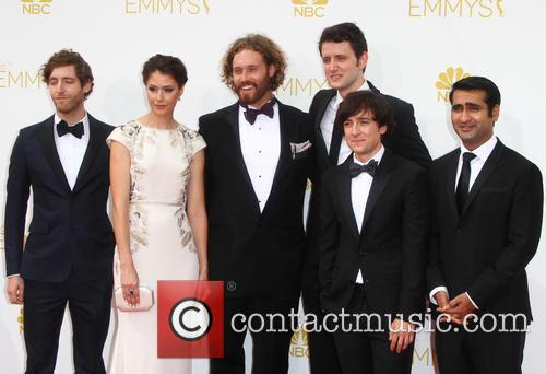 Thomas Middleditch, Amanda Crew, T.j. Miller, Josh Brener, Zach Woods and Kumail Nanjiani