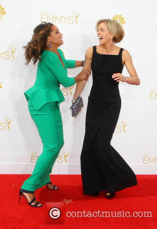 Vanessa Williams and Felicity Huffman