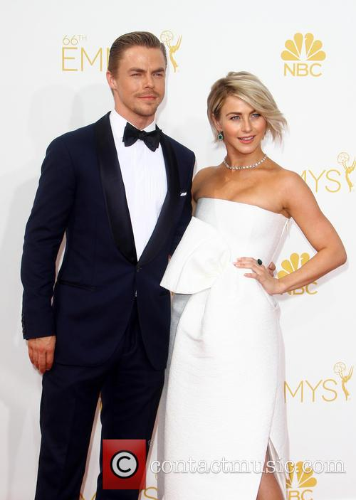 Derek Hough and Julianne Hough 1