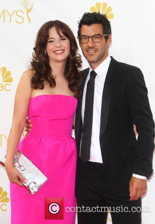 Zooey Deschanel and Jacob Pechenik 1