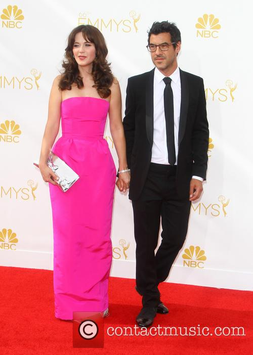 Zooey Deschanel and Jacob Pechenik 2
