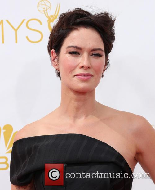 Lena Headey at 2014 Emmy Awards