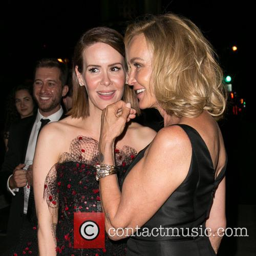 Sarah Paulson and Jessica Lange 4