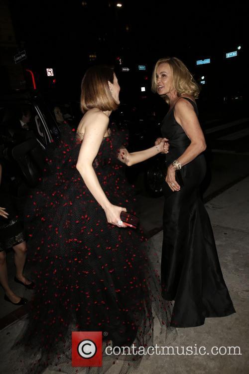 Sarah Paulson and Jessica Lange