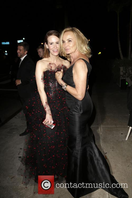 Sarah Paulson, Jessica Lange, Vibiana