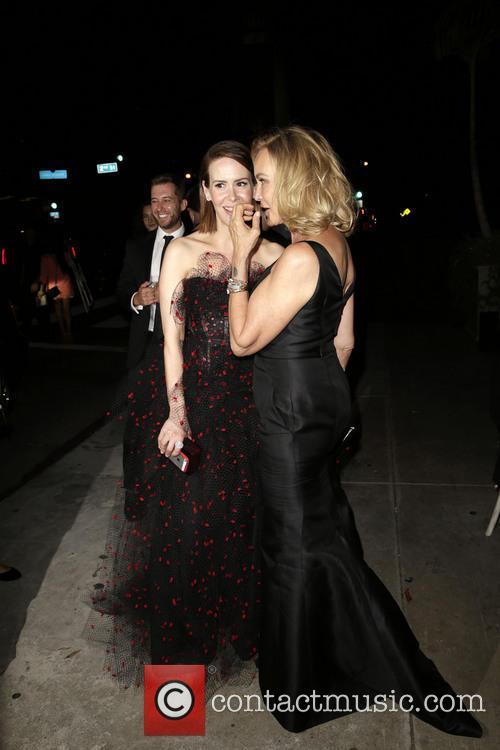 Sarah Paulson and Jessica Lange 9
