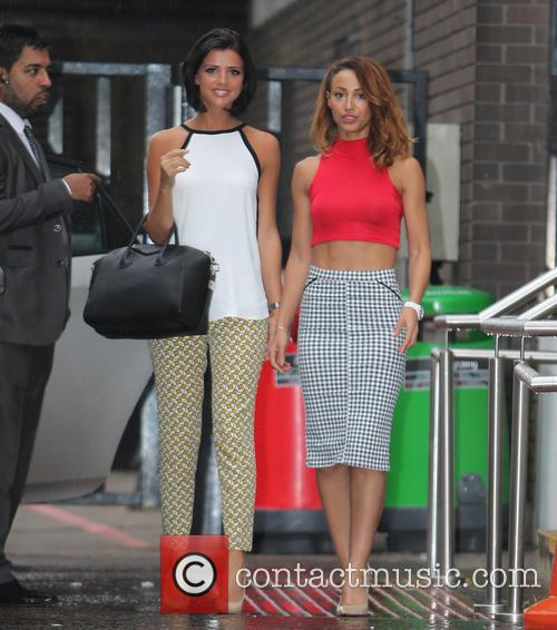 Amelle Berrabah and Lucy Mecklenbrugh
