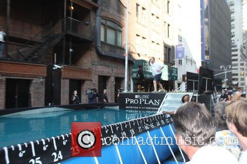 David Letterman and Dock Diving Dogs 9
