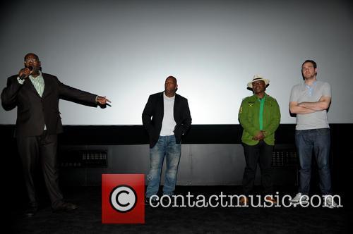 Cass Pennant, Barrington Patterson, Vas Blackwood and Gabe Turner (director) 8