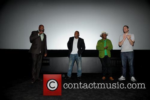 Cass Pennant, Barrington Patterson, Vas Blackwood and Gabe Turner (director) 10