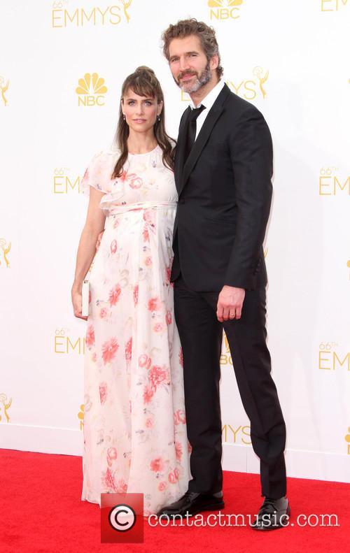 David Benioff and Amanda Peet 3
