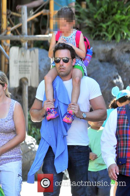 Ben Affleck and Seraphina Affleck 4