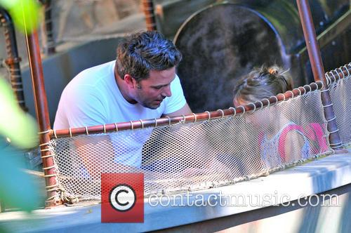 Ben Affleck and Seraphina Affleck 6