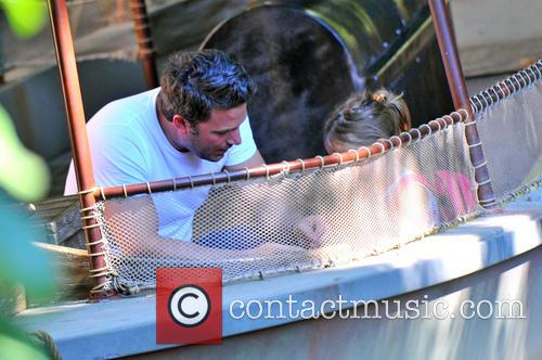 Ben Affleck and Seraphina Affleck 8