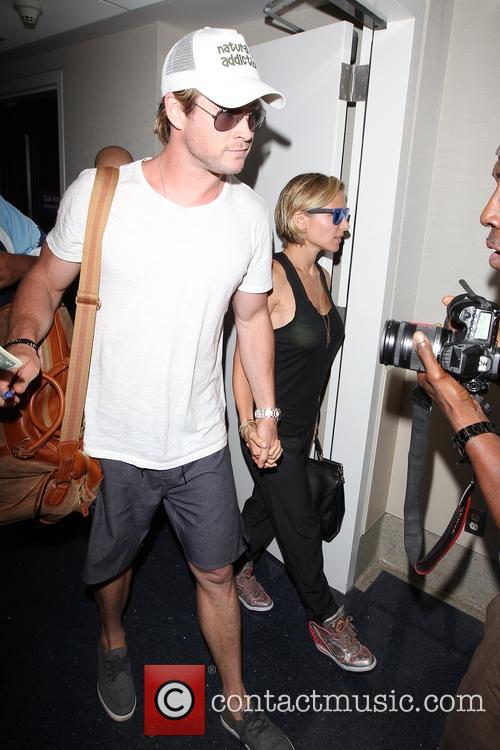 Chris Hemsworth and Elsa Pataky 6