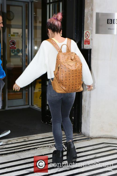 lily allen celebrities at bbc radio 2 4342124