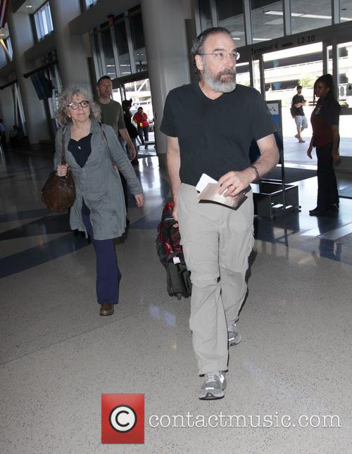 Mandy Patinkin departs from Los Angeles International Airport