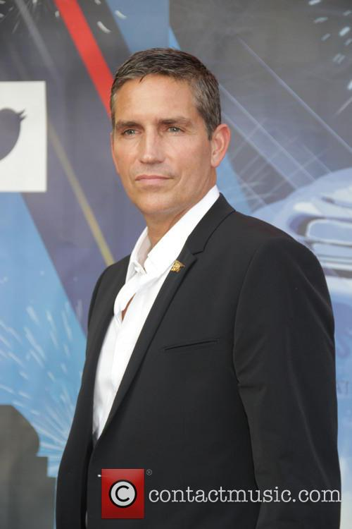 Jim Caviezel at the US Tennis Open