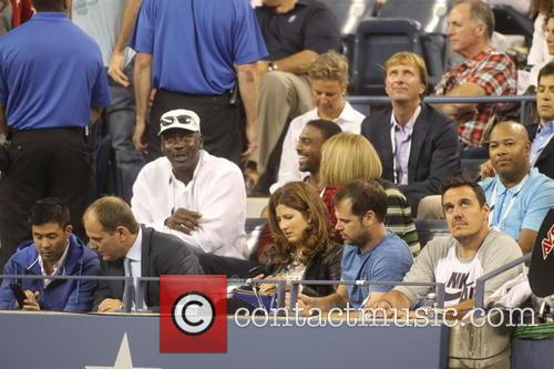 Michael Jordan, 2014 Tennis US Open