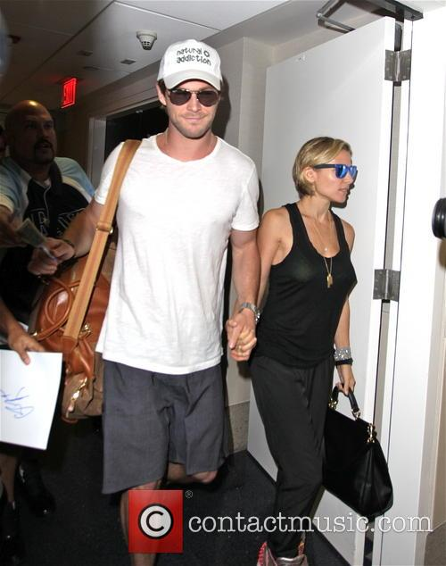 Chris Hemsworth and Elsa Pataky 16