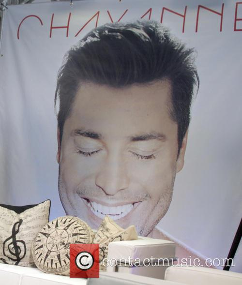 Chayanne continues his promo tour of his new...
