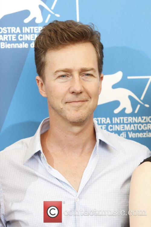Edward Norton at 'Birdman' photocall