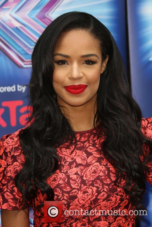 sarah jane crawford the x factor press launch 4344337