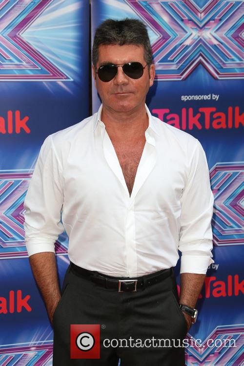 simon cowell the x factor press launch 4344329
