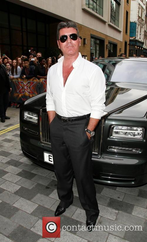simon cowell the x factor press launch 4344771