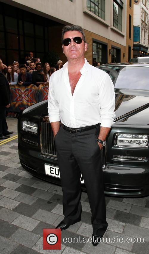 simon cowell the x factor press launch 4344776