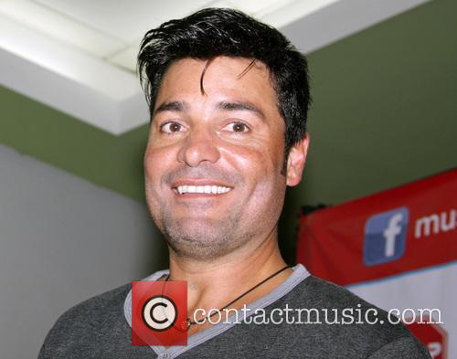 Chayanne  promoting his new record release