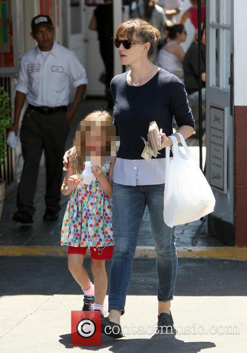 Jennifer Garner and Seraphina Affleck 12